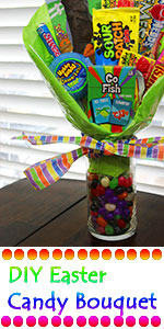 Learn how to make an Easter candy bouquet!