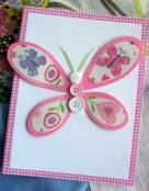 Click here to make this butterfly outline card...