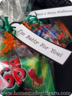 Our Halloween printables can be used for goodie bags...