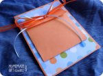 Give your Scorpio symbol art charm in a cute pouch card...