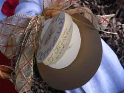 Add a recipe gift tag to your Homemade Kahlua Coffee Liquor Gift...