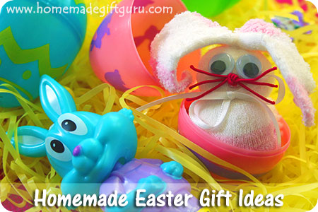 Easter bunny crafts and Easter gift ideas for a super fun Easter...