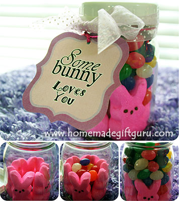 Making a homemade Easter gift jar is easy with these free Easter printables...
