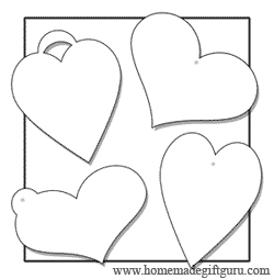 Click here for these multi-use heart shaped gift tags...