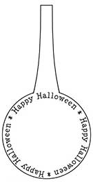 Click for full size Halloween printable gift tag...