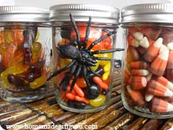 Let Halloween themed candy inspire your halloween gift ideas...