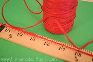 An easy way to measure your paper canister is by wraping string around the container and then measuring the string...