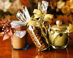 There are many different ideas for homemade gifts in a jar...