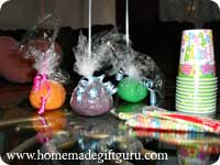 Play dough can be used to weight party balloons and then given to kids for favors after the party...