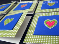 These homemade Valentines are so simple but they look cute and feel quality in your hand...