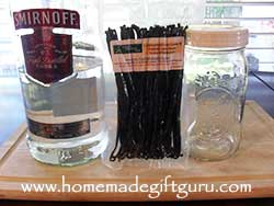 How to make vanilla bean extract with fresh vanilla beans and vodka...