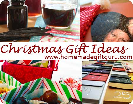 Homemade Christmas gift ideas...
