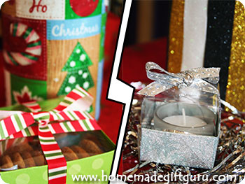 Here you can find our two tutorials on how to make gift boxes with elegant clear lids! www.homemadegiftguru.com