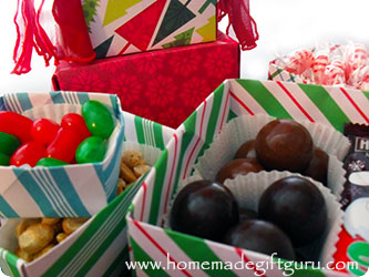 Your origami box can be filled with treats or trinkets...