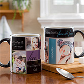 Photo mugs with text blocks...
