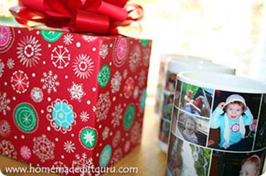 Photo mugs make great personalized gift ideas...