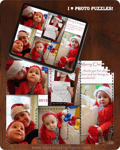 I made this digital scrapbook page and turned it into a photo puzzle for Christmas!