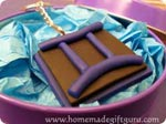 Learn how to make a Gemini Zodiac Birthday Symbol Charm...