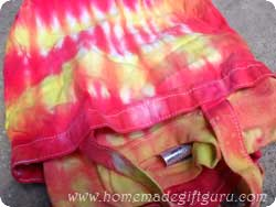 Tie dye tee shirt and tote bag gift for kids...