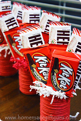 Candy gifts are a fun craft for Sweetest Day