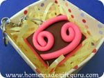 Gift wrap your Scorpio symbol art charm in an Origami Gift Box...