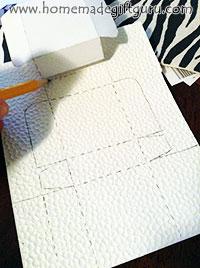 Free printable advent calendar templates by www.homemadegiftguru.com