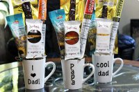 Give dad his favorite sweet and salty snacks by making a snack food bouquet he can devour...