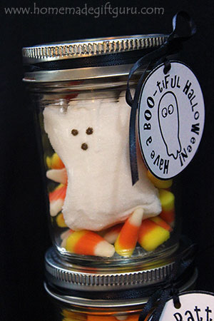 Have a BOO-tiful Halloween! These freebie ghost pun Halloween printables make a great addition to ghost-themed Halloween candy ideas. They pair perfectly with this easy ghost in a mason jar gift idea.