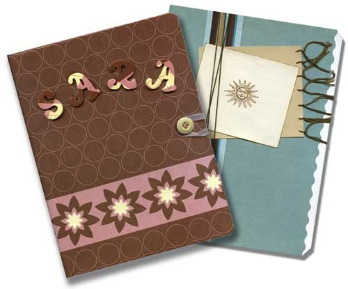 Learn how to make fun homemade journals and embellished notebooks perfect for teens.