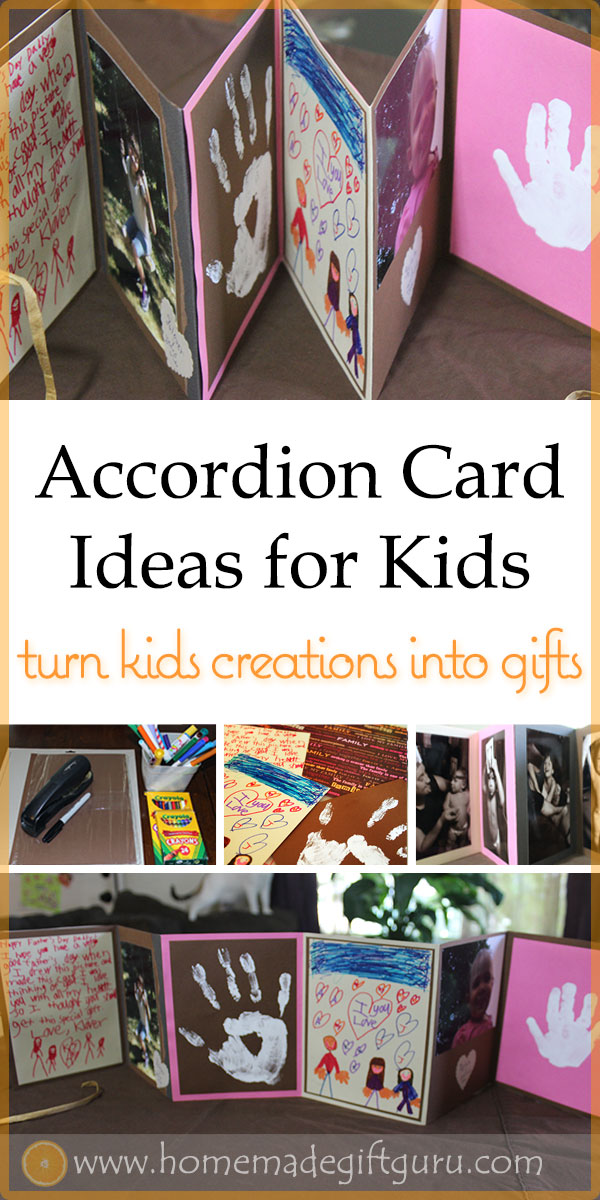 This heartwarming gift idea for kids to make is perfect for any age. Put the kids to work with these creative memorabilia ideas! #giftskidscanmake #forgrandparents #fathersday #cardmakingideas