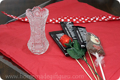 To Make This Valentineu0027s Day Gift Candy Bouquet, I Simply Started With.