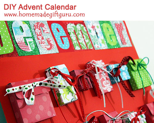 With these free advent calendar templates, you can make a countdown calendar from the paper of your choice!