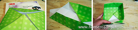 Step by step tutorial on making your own box with an elegant clear lid.