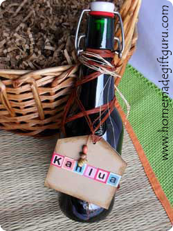 More Homemade Gift Ideas: Homemade Kahlua
