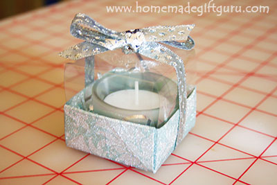 Make gift boxes that show off your handmade gifts!