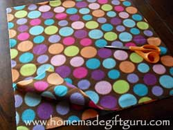 Fleece is AWESOME! The edges won't fray like most fabric and your local craft store will likely have hundreds of fleece colors, patters and fantastic themes. Learn how to make a fleece pillow here.