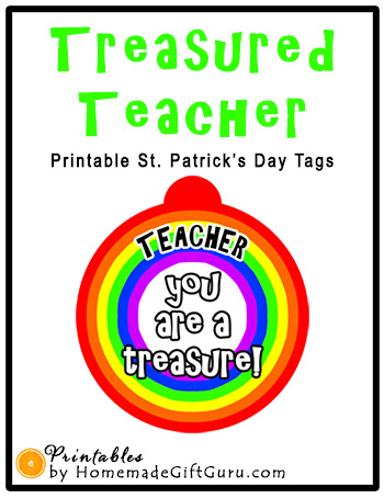 Make cute homemade teacher gifts that let the teachers in your life know that they are treasured with these