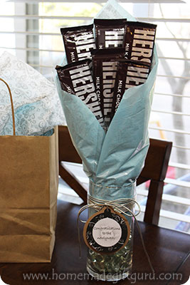 DIY chocolate candy bouquet. Instructions, tips and tricks!