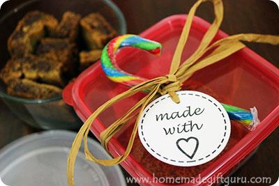 Printable Gift Tags for Homemade Gifts!