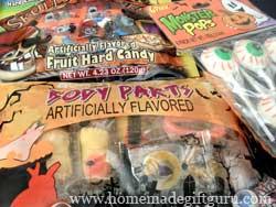 Fun Halloween Candy for Halloween baskets!