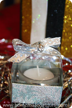 Learn how to make a tall elegant clear lid to show of your handmade gift!